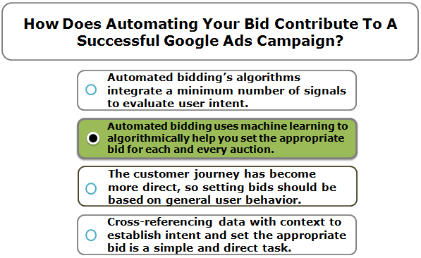 How Does Automating Your Bid Contribute To A Successful Google Ads Campaign?