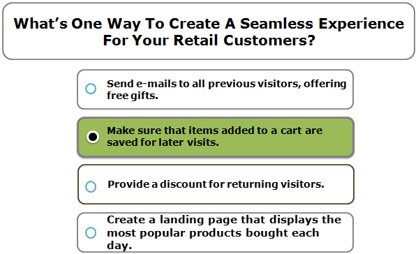 What's One Way To Create A Seamless Experience For Your Retail Customers?