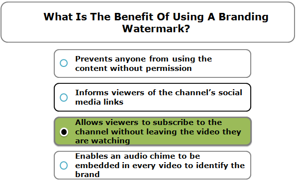 What Is The Benefit Of Using A Branding Watermark?