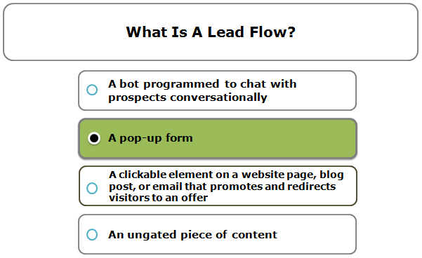 What Is A Lead Flow?