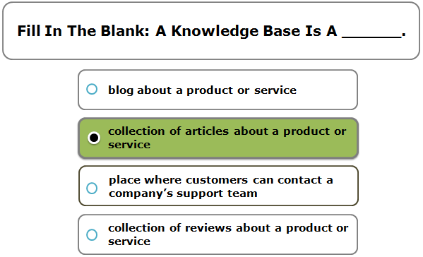 Fill In The Blank: A Knowledge Base Is A ______.