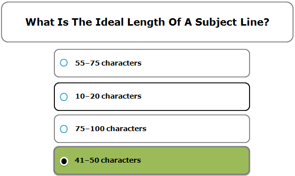 What Is The Ideal Length Of A Subject Line?