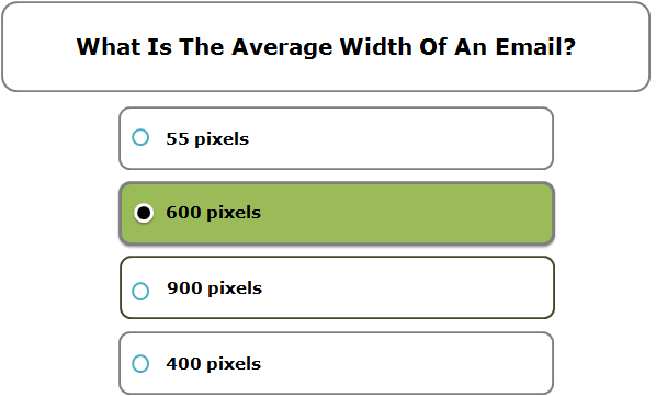 What Is The Average Width Of An Email?