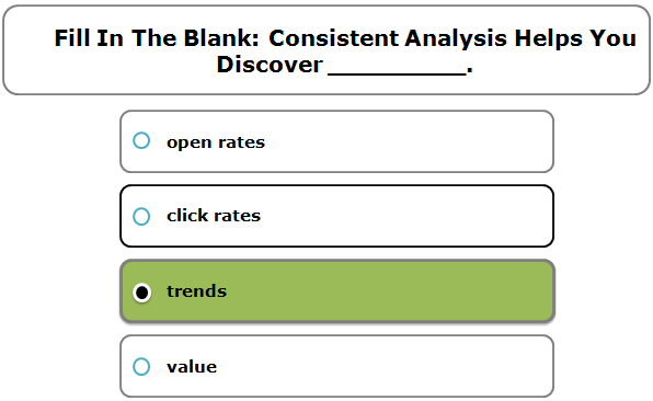 Fill in the blank: Consistent analysis helps you discover _________.