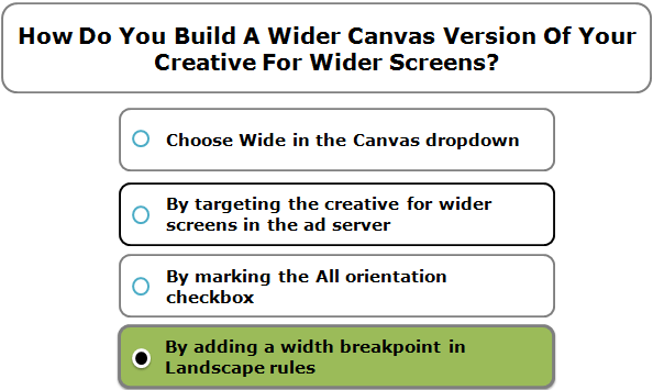 How Do You Build A Wider Canvas Version Of Your Creative For Wider Screens?