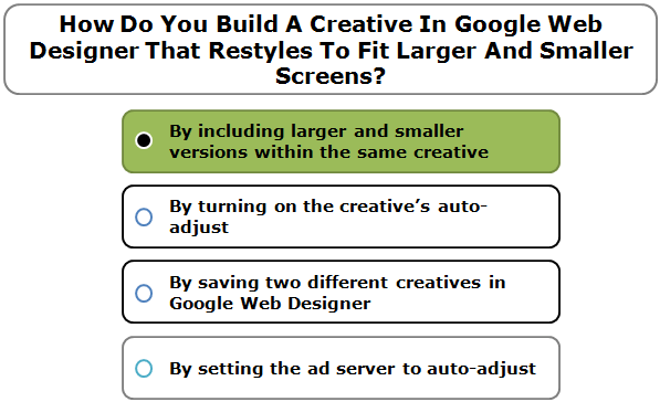 How Do You Build A Creative In Google Web Designer That Restyles To Fit Larger And Smaller Screens?