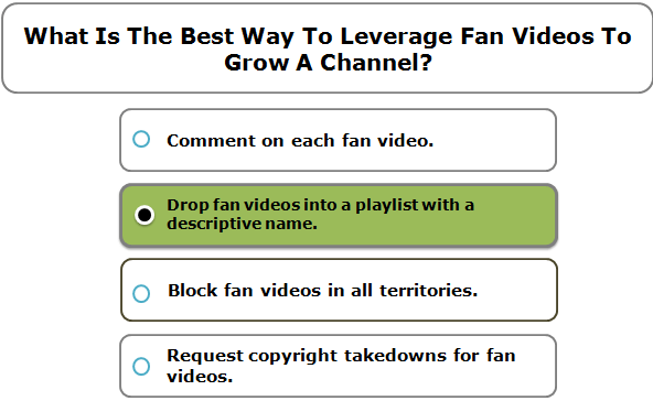 What Is The Best Way To Leverage Fan Videos To Grow A Channel?