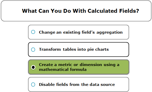 What Can You Do With Calculated Fields?