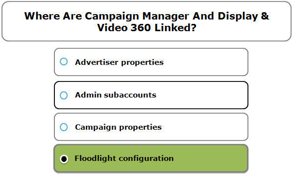 Where Are Campaign Manager And Display & Video 360 Linked?