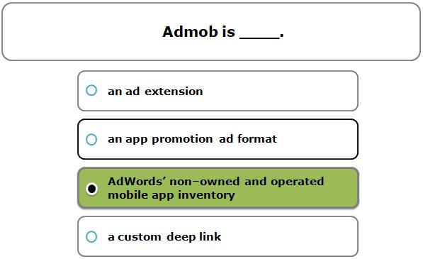 Admob is ____.